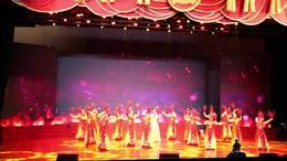 仙林街道纪念建党97周年党员群众大会歌伴舞《党啊 亲爱的妈妈》