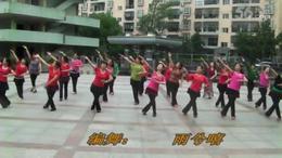 黄陂文体广场晨练舞蹈  你