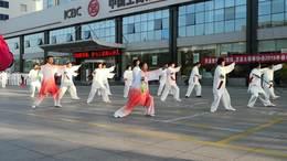 新学员3组42式太极剑展演