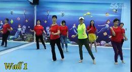 七彩排舞《巴比伦河》-  杭州城西银泰排舞培训班演跳