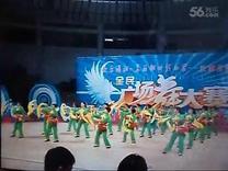 汝城县夕阳红腰鼓队表演格桑拉