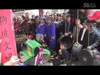 2016年东兰县长乐镇板登村蚂拐节活动实况