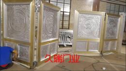 悬浮折叠门安装测试