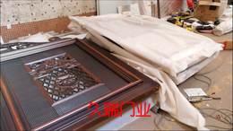 四川泸州客户电动悬浮折叠门宝马灰拉丝