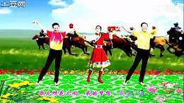 荟萃燕子广场舞《家园》 燕子青松异地同台 编舞:王梅
