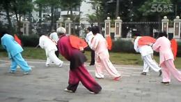海南练习  混元太极扇2016