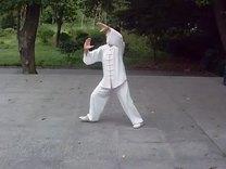 十六式太极拳竞赛套路  演练