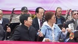 郑州第十一届海棠文化节 碧沙乐团张福庆笛子演奏 天路