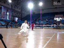 马明辉老师在长春市体育馆演练的鸭子拳