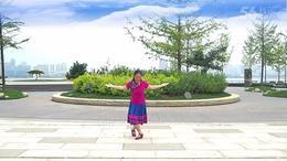 紫阳花广场舞《藏歌唱起来》 编舞 格格