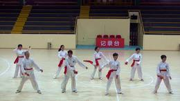老年体协广场舞比赛《大海航行靠舵手》