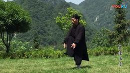 三丰派传人钟云龙根据祖师拳法简化的太极拳28势