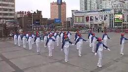 a齐齐哈尔市第二套鹤舞飞翔快乐舞步有氧健身操 14节全)...