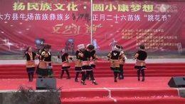 2017年大方县牛场乡花坡节表演节目之十九——欢乐的跳吧
