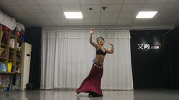 河南洛阳艾尚娜娜肚皮舞Nina(娜娜)老师教练班舞蹈正义永存