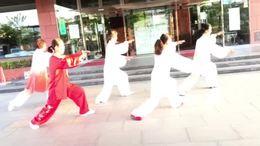 在日本甲斐路24式太极拳
