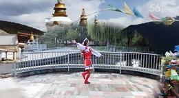 月梅广场舞【拉萨风情】含正背面分解原创
