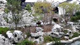 盐官古城·开元·观堂苑庭院景色