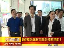 省委常委、宣传部长蔡振红到娄星区扶青社区调研  2