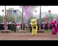 吉林市农校运动会开幕式
