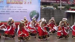 科普日宣传活动节目展示一 藏族舞蹈  卓嫫mp4