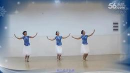 新东方广场舞《又见北风吹》编舞:艺子龙