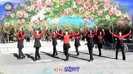 万春园广场舞【全国都在跳】编舞,青春飞舞