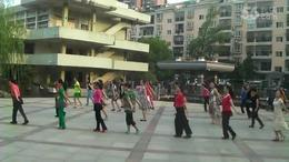黄陂文体广场晨练舞蹈  祝酒歌