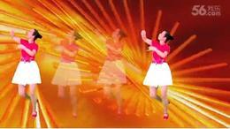 让祝福飞 编舞 廖弟 老师生日视频 昭平香影广场舞
