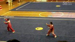 参加重庆市太极拳比赛42拳