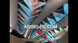 Soft Flexible Bendable Cylinder Curved led screen