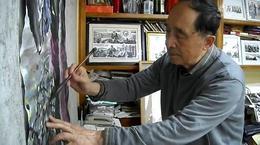 笔尖上的长安之国画家耿建篇 金安传媒