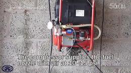 金属铸件 48 燃烧器的改进