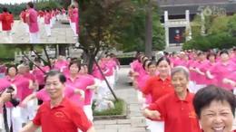 红梅公园舞操结合健身队