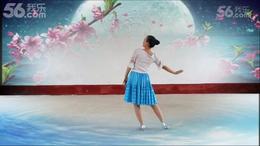 格格原创广场舞《老家的月亮 》静态版