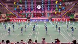 晋中第四届运动会开幕式榆次老体协柔力球展演