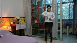 春英广场舞 心里藏着你 2015最新舞蹈背面演示_高清