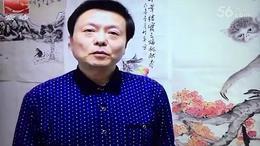 许竹平《喜迎猴年》新闻采访