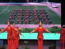 00813形体韵律操海、宁市退教协会舞蹈组