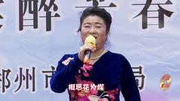 郑州第十一届海棠文化节 碧沙乐团邓秋香演唱 歌曲《芦花》