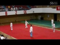周仕荣参加重庆市42太极拳比赛