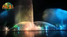 第26集;观赏汉城湖音乐喷泉