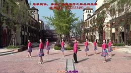 广西廖弟健身舞 《那里的山,那里的水》 演示:湖北麻城鑫粉团