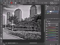 Photoshop CS6教程 100 黑白調整