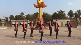 琪子广场舞:《梦断楼兰》团队版 (82)