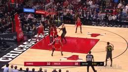 林书豪15分4助攻2篮板,NBA 2019.1.23 老鹰121 101公牛