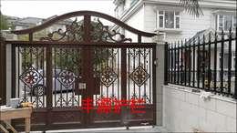 东莞大绿地金豪花园13栋铝艺围墙护栏