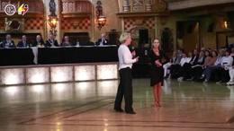 最新 WDC主席东尼本英国黑池舞蹈节讲习拉丁舞 90后编导