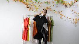 阿邦服装批发-夏款时尚连衣裙20件起批  502期