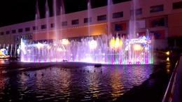 硖石灯会之一——音乐喷泉
